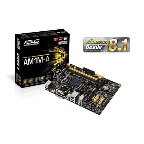 PLACA MAE AM1 MICRO ATX AM1M-A/BR DDR3 USB 3.0 ASUS