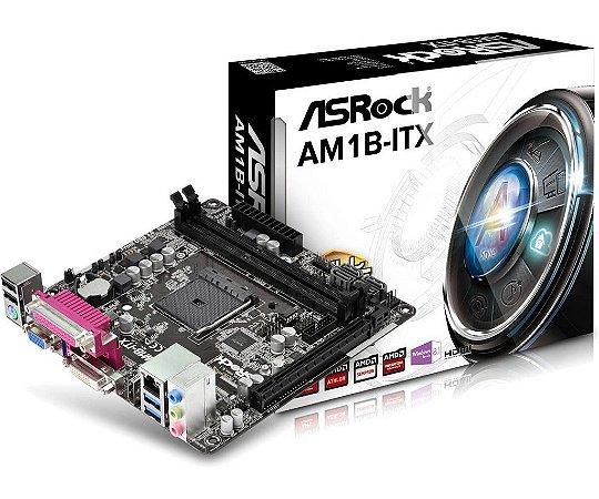 PLACA MAE AM1 MINI-ITX AM1B-ITX DDR3 ASROCK