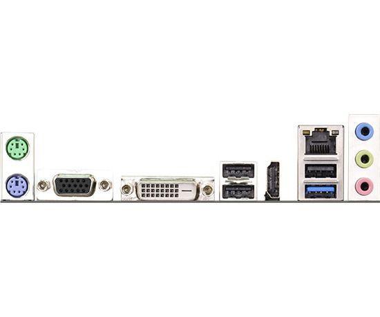 PLACA MAE COM PROCESSADOR MICRO ATX D1800M DDR3 INTEL DUAL-CORE J1800 ASROCK