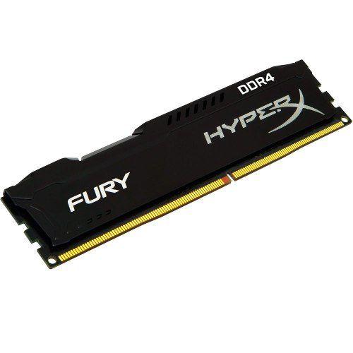 MEMORIA GAMING 8GB DDR4 2400MHZ FURY HYPERX  KINGSTON
