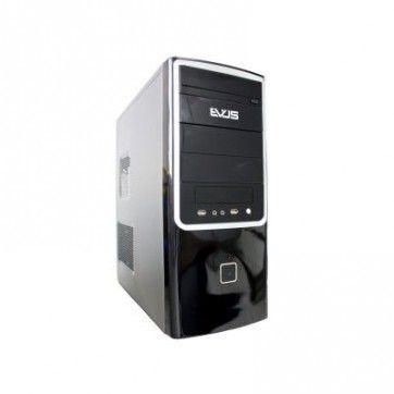 GABINETE G4-09S MICRO ATX C/FONTE 200W PRETO / PRATA EVUS