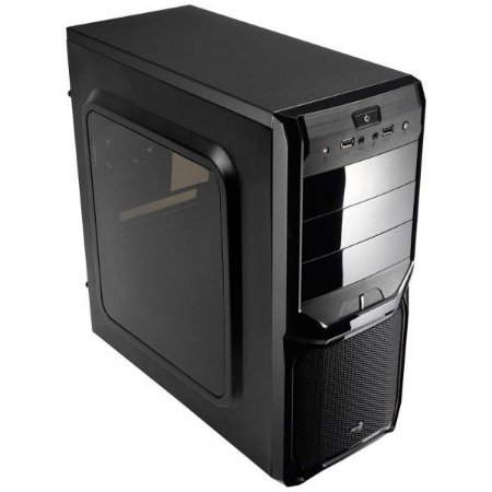 GABINETE 3 BAIAS V3X WINDOW MID TOWER S/ FONTE AEROCOOL