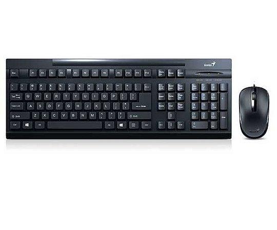 TECLADO/MOUSE USB 31330209103 KM-125 GENIUS