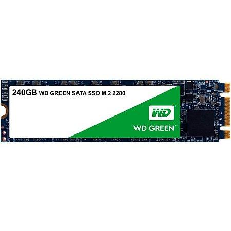 SSD 240GB M.2 WDS240G2G0B WD GREEN WESTERN DIGITAL