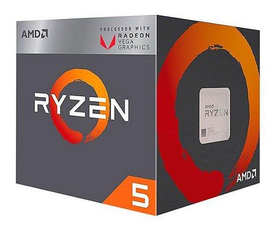 PROC RYZEN 5 2400G 3.6 GHZ 6 MB CACHE AMD