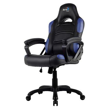CADEIRA GAMER PRO AC80C EN54027 AEROCOOL BLACK/BLUE