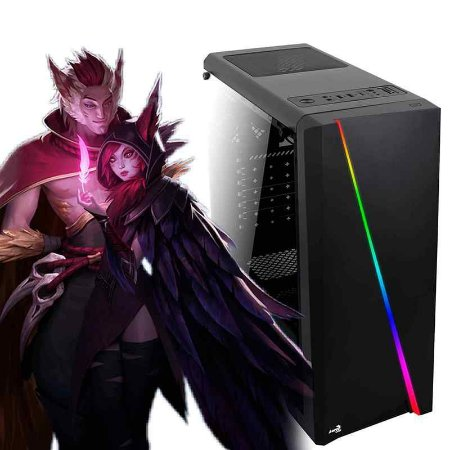 PC GAMER DUO ATX CYLON RGB - LOL