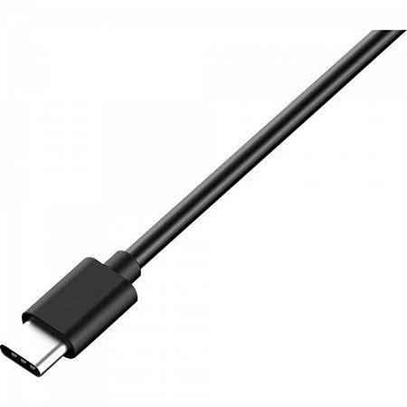 Cabo USB Tipo C Macho Para USB Tipo C Macho 1,0M