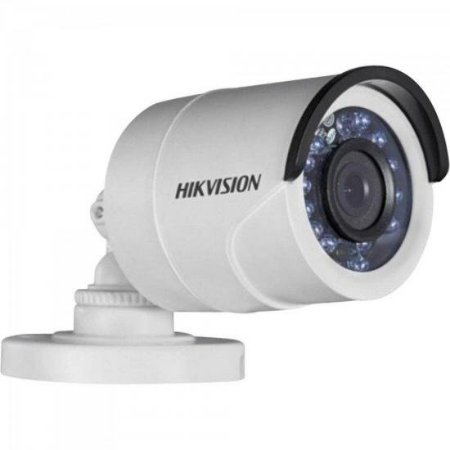 Camera Bullet HD 3.0P 1MP 20M 2.8mm Branca HIKVISION