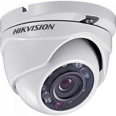 Camera Dome Flex (4 em 1) 2,8mm 20M Plastico DS-2CE56D0T-IRPF HIKVISION