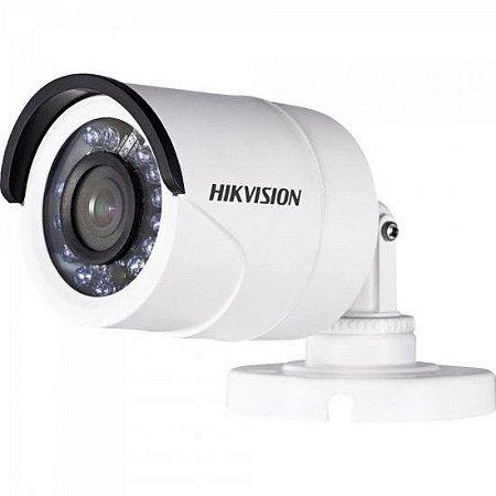 Camera HD 4.0 2MP 20M 2.8MM Bullet DS-2CE16D0T-VFIR3F Branca HIKVISION