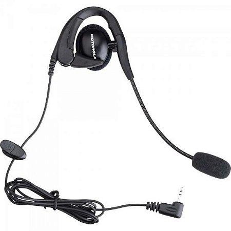 Fone de Ouvido com Microfone Ajustável Para Rádios TALKABOUT FRS56320B Preto MOTOROLA