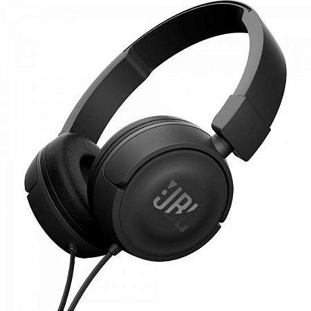 Fone de ouvido on-ear T450 Preto JBL