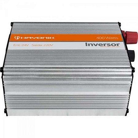 Inversor de Onda Modificada 24VDC/220V USB 400W HAYONIK