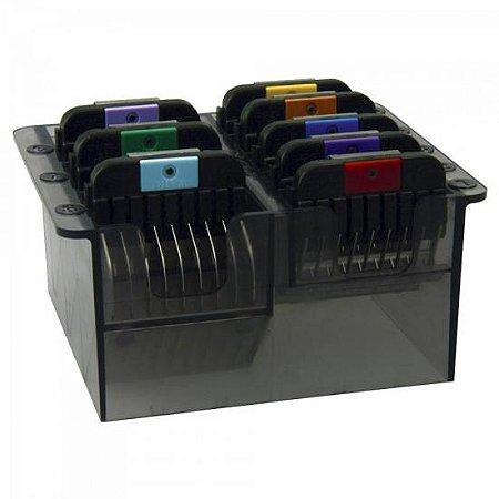 KIT Pentes P/ Corte PET com 8 Peças Aluminio KM2/MAX45 WAHL
