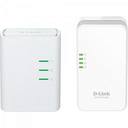 Kit Repetidor Roteador Wireless 300Mbps DHP-W311AV Branco D-LINK