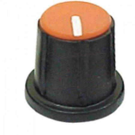 Knob Estriado para Mesa de Som KP-200 Laranja SCOTT