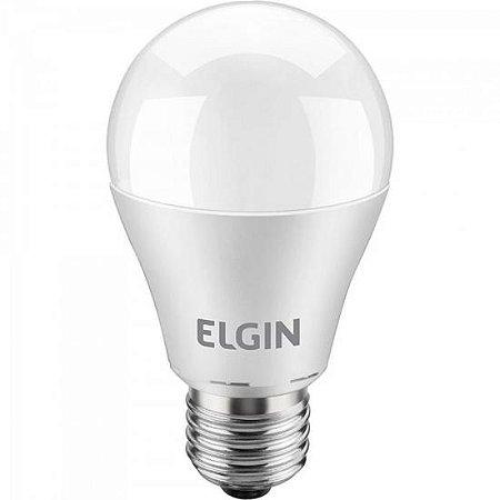 Lâmpada LED Bulbo Power 10W 6500K A60 Branca ELGIN