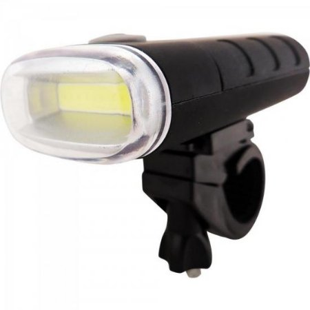 Lanterna Frontal LED p/ Bike Preto BRASFORT