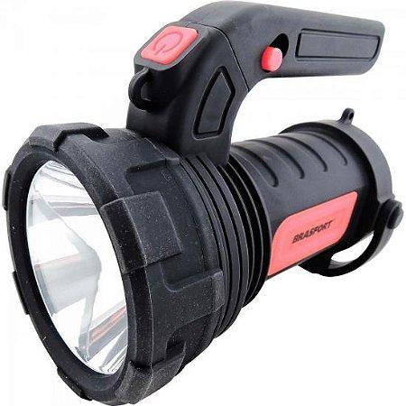 Lanterna LED ALFA Preta BRASFORT