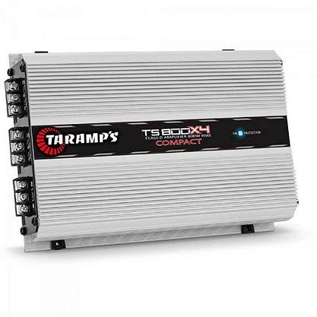 Módulo 800W 2 Ohms TS-800X4 COMPACT TARAMPS