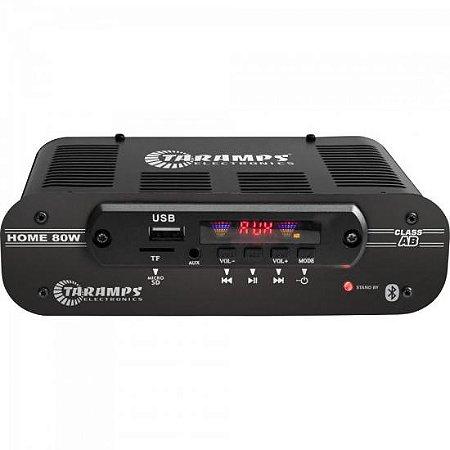 Módulo Amplificador 4 canais Home 80 Preto TARAMPS