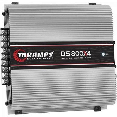 Módulo Amplificador 800W 4R 4 Canais DS800 TARAMPS