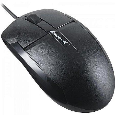 Mouse USB 1000dpi OM-101BK Preto FORTREK