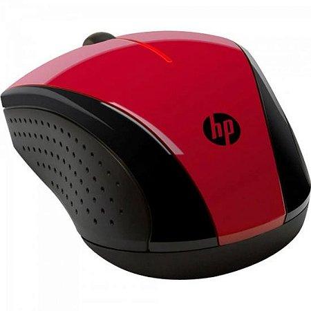 Mouse Wireless X3000 Vermelho/ Preto HP