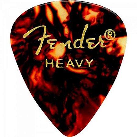 Palheta FENDER Shape Classic Heavy
