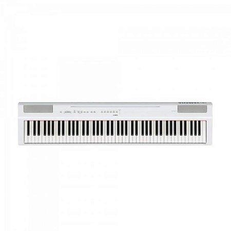 Piano Digital 88 Teclas c/ Fonte P125WH Branco YAMAHA