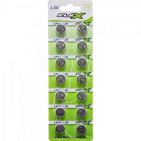 Pilha Alcalina FXLR44 1,5V 120mAh FLEX