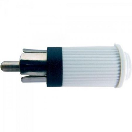 Plug RCA Macho 122 Branco EMETAL