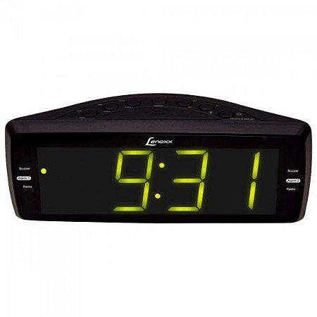 Rádio Relógio AM/FM Bivolt RR-736 Preto LENOXX