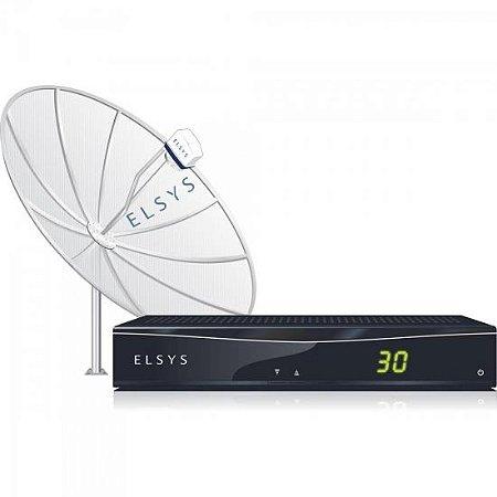 Receptor Analógico Para TV ETRS29 2.0 Preto ELSYS