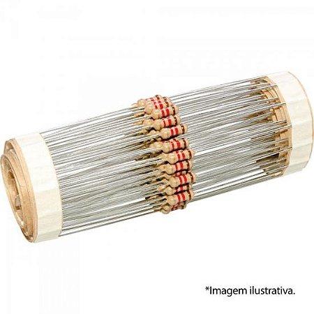 Resistor Carvão 1/4W 51K1 1% GENÉRICO