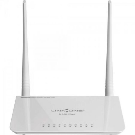 Roteador Wireless 3G 4G 300Mbps N 300 L1-RW332M Branco LINK ONE