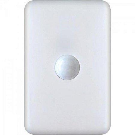 Sensor de Presença com Sistema de Embutir Bivolt PT1015 Branco PROTECTION