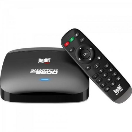 Smart Box Android 4K BS9600 Preto BEDINSAT