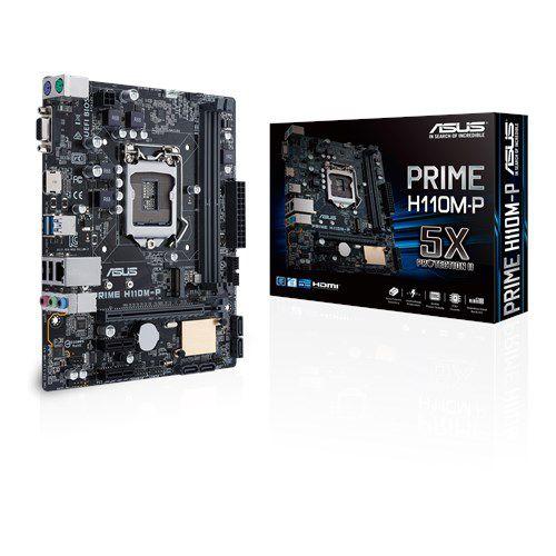 PLACA MAE 1151 MICRO ATX PRIME H110M-P DDR4 ASUS