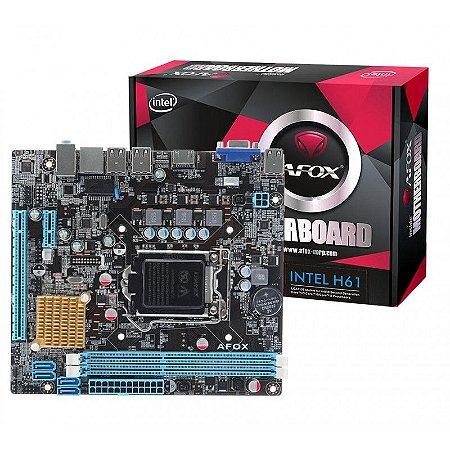 PLACA MAE 1155 ATX IH61-MA DDR3 VGA/HDMI AFOX