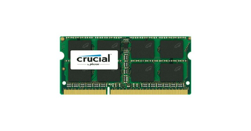 MEMORIA 4GB DDR3L 1600 MHZ CT51264BF160BJ NOTEBOOK CRUCIAL