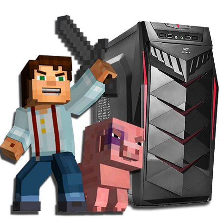 PC GAMER MINEBOX - MINECRAFT