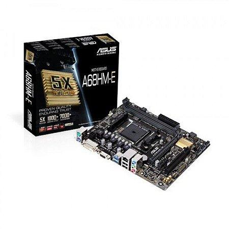PLACA MAE FM2 MICRO ATX A68HM-E DDR3 ASUS  IMPORTADO