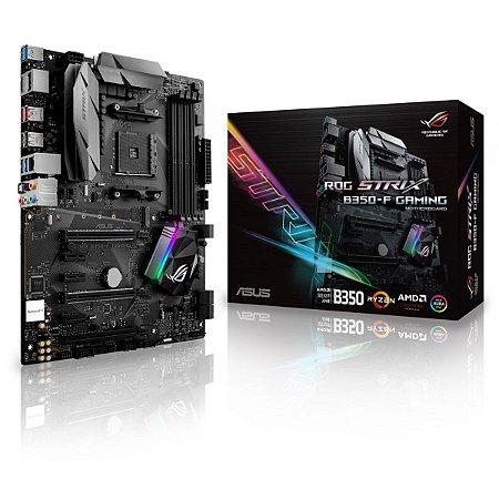 PLACA MAE AM4 ATX B350-F DDR4 GAMING ROG STRIX ASUS