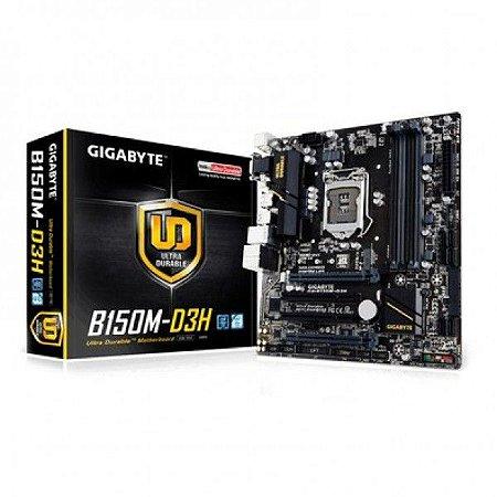PLACA MAE 1151 ITX GA-B150M-D3H DDR4 GIGABYTE