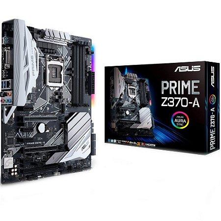 PLACA MAE 1151 ATX PRIME Z370-A DDR4 M.2 SOCKET 3 ASUS