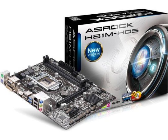 PLACA MAE 1150 MICRO ATX H81M-HDS R2.0 ASROCK  IMPORTADO