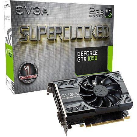 PLACA DE VIDEO 2GB PCIEXP GTX 1050 02G-P4-6152-KR 128BITS DDR5 GEFORCE EVGA