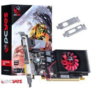 PLACA DE VIDEO 1 GB PCIEXP HD 6450 PS64506401D3LP 64BITS DDR3 RADEON PCYES